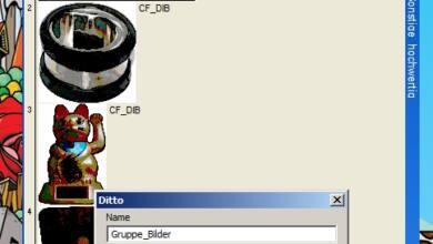 Bild von Anleitung: Zwischenablage ersetzen – Teil 3: Dittos Gruppenfunktion