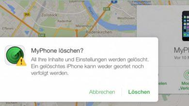 Bild von Anleitung: Verlorenes iPhone oder iPad wiederfinden, sperren oder löschen