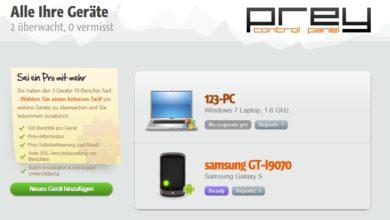 Bild von Gratis-Diebstahlschutz: Smartphone-Diebe mit Prey auffinden