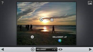 Bild von Anleitung: Dunkle Gegenlicht-Fotos auf dem Smartphone korrigieren