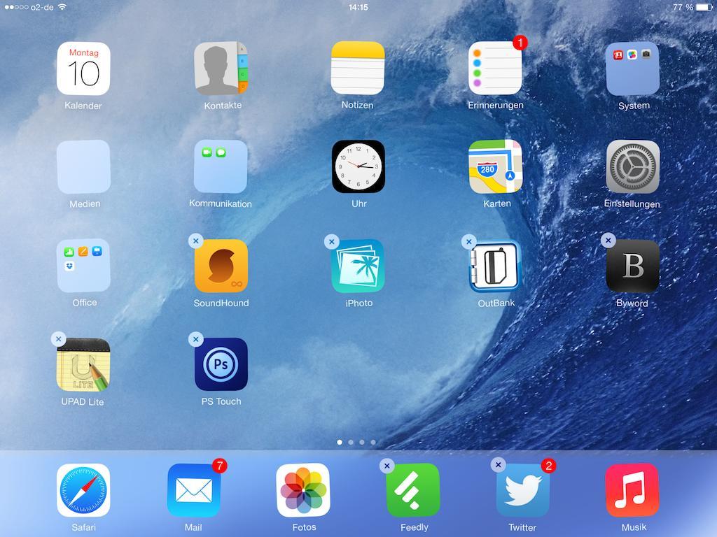 Apps löschen