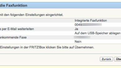 Bild von Anleitung: Mit der FritzBox ohne Faxgerät Faxe empfangen