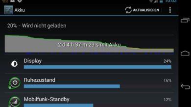Bild von Anleitung: Längere Akkulaufzeit auf Android-Smartphones nutzen