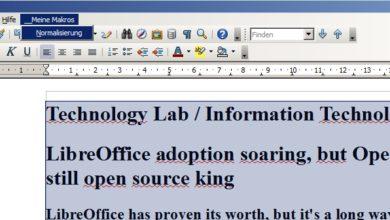 Bild von Anleitung: Makros in OpenOffice aufzeichnen und einbinden