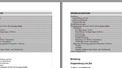 Bild von Anleitung: Inhaltsverzeichnis automatisch erstellen