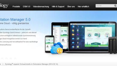 Photo of Link: DiskStation Manager 5 bringt neue Funktionen auf Eure Synology-NAS