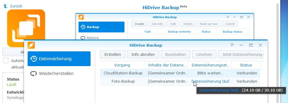 HiDrive Einstieg