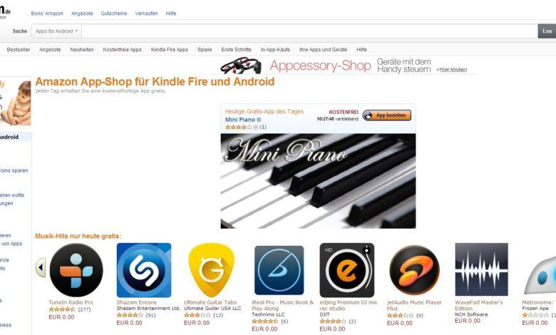 Amazon Musik Herunterladen