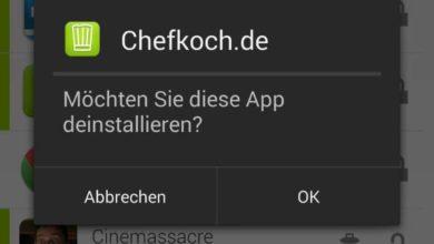 Bild von Tipp: Android-Apps ganz einfach deinstallieren
