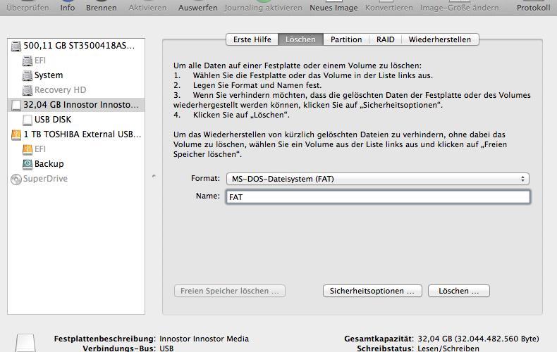 fat32 formatieren windows 8
