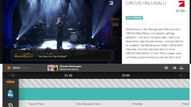Bild von Kostenlos fernsehen im Browser, auf Tablets und auf Smartphones