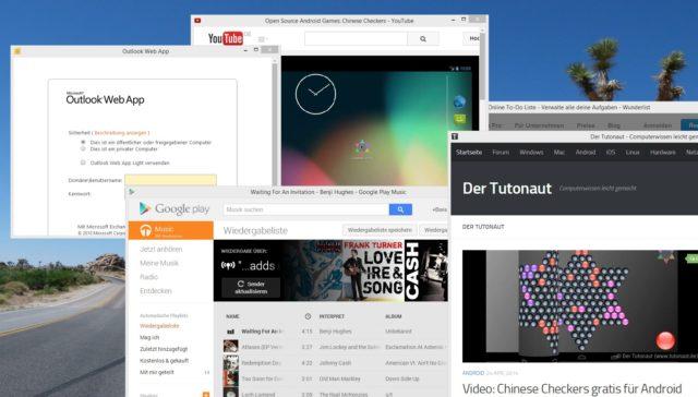 Der Unterschied zwischen Website und Desktop-Anwendung verschwimmt mehr und mehr