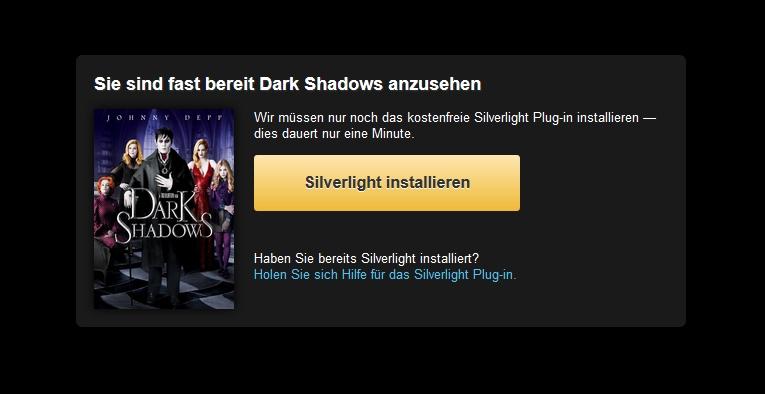 amazon prime instant video dark shadows