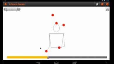 Bild von Video: Jonglieren lernen per Gratis-App für Android