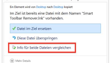 Bild von Anleitung: Dateien und Ordner aus dem Windows-Dateiversionsverlauf wiederherstellen