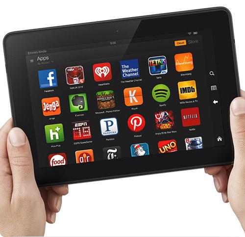 Das App-Angebot gehört nicht eben zu den Stärken des Amazon Kindle Fire - immerhin gibt es einen Workaround (Bild: Amazon)