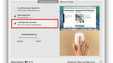 Photo of Fenster auf dem Mac mit der Magic Mouse zoomen