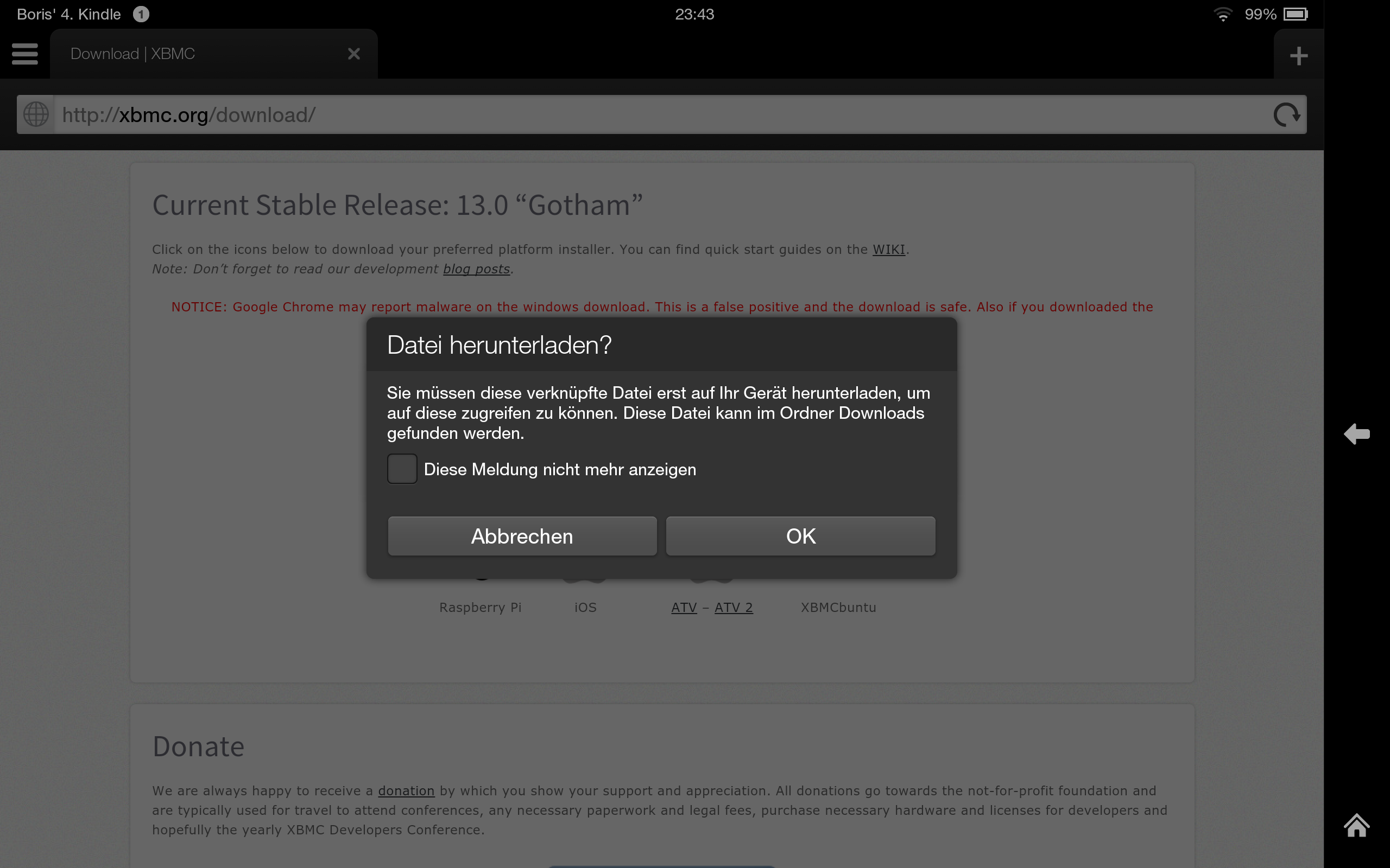Alle Android-Apps auf dem Amazon Kindle Fire HD/HDX