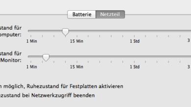 Bild von Monitor von iMac, Macbook und Co. ausschalten und Strom sparen
