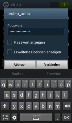 Samsung_Einrichten_1 WLAN aktivieren