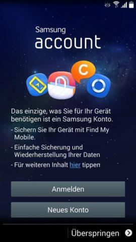Samsung_Einrichten_2 Samsung Account einrichten