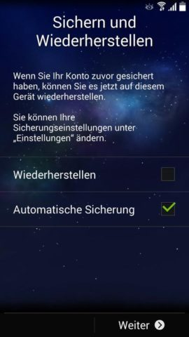 Samsung_Einrichten_3 Sichern und wiederherstellen
