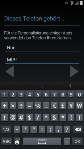 Samsung_Einrichten_7 Benutzerinfos
