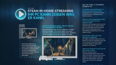 Bild von Anleitung: Steam In-Home-Streaming für alle Spiele nutzen