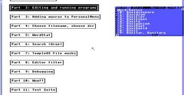 Beeindruckend ist der Hohe Grad an Dokumentation - da könnte sich Microsoft  eine Scheibe von abschneiden ;)