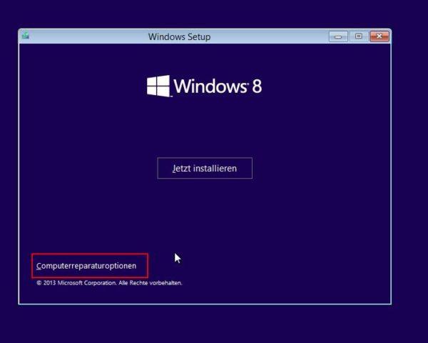 Windows Bootprobleme - 1