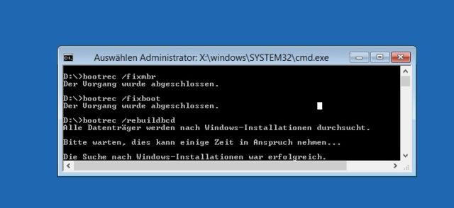 Windows Bootprobleme - 3