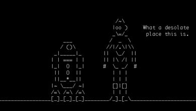 Bild von Star Wars Episode IV komplett im Terminal anschauen – als ASCII-Art