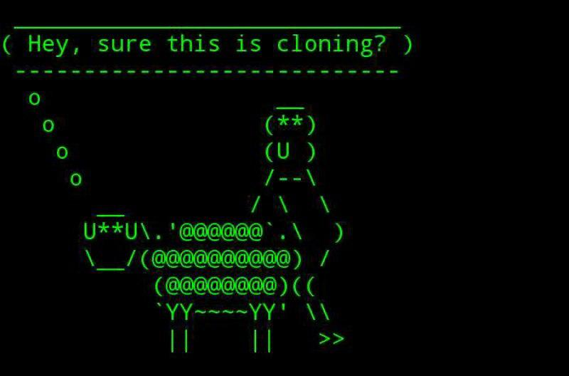 cowsay