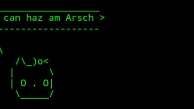 Bild von Anleitung: ASCII-Art-Sprechblasen-Kühe unter Android basteln