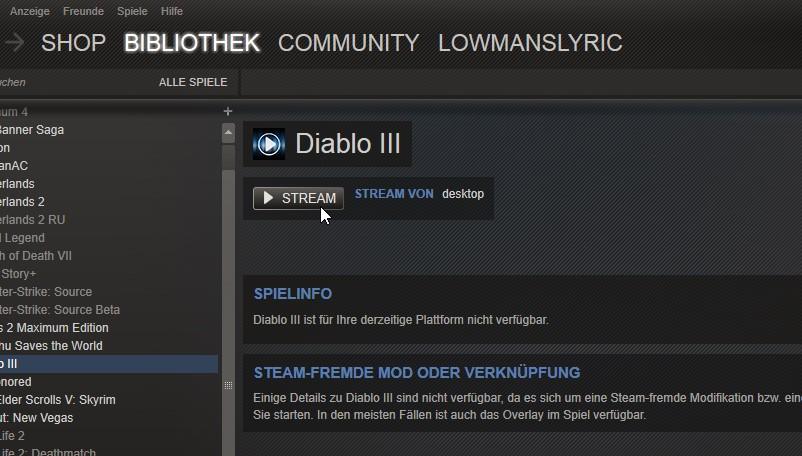 Anleitung: Steam In-Home-Streaming für alle Spiele nutzen ...