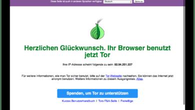 Bild von Anleitung: Mit dem Tor Browser Bundle anonym im Internet surfen