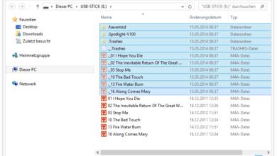 Bild von Anleitung: USB-Sticks von störenden MacOS-Dateien befreien
