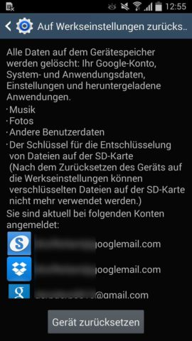 Android zurücksetzen 2