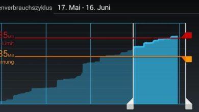 Bild von Den mobilen Datenverbrauch unter Android kontrollieren