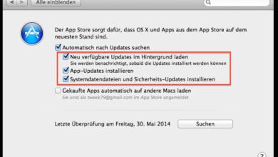 Bild von Updates für MacOS und Apps automatisch einspielen