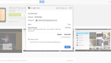 Bild von PayPal zur Zahlung im Google Play Store verwenden [Update]