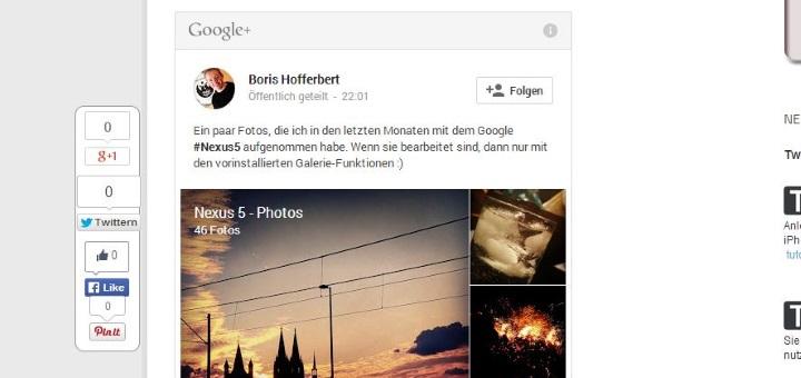 Google Plus Einstieg