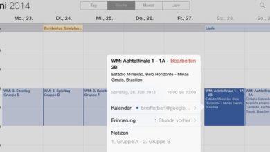Photo of Wichtige Termine ganz einfach in iPhone- und iPad-Kalender importieren