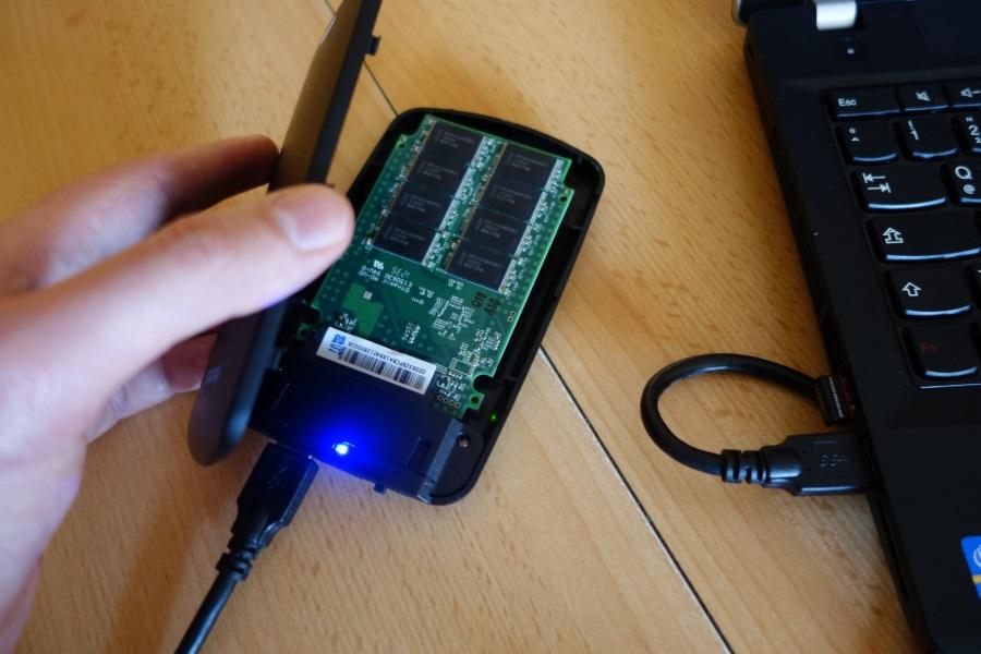 SSD-Umzug 2