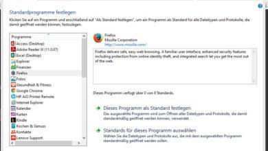 Photo of Anleitung: Standardprogramme unter Windows ändern