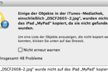 Bild von Anleitung: Synchronisierungsfehler zwischen iTunes, iPhoto, iPad und iPhone beheben