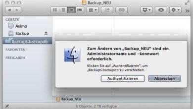Bild von Anleitung: Time Machine-Backup auf eine neue Festplatte umziehen