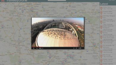 Bild von Die Welt mit TravelByDrone aus der Luft betrachten