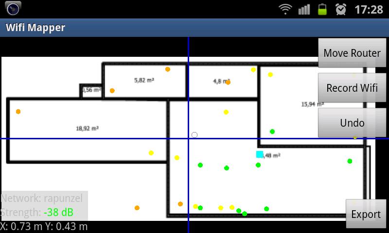 Der Wifi Mapper arbeitet mit importierten Hintergründen, ist aber bisweilen frickelig ...
