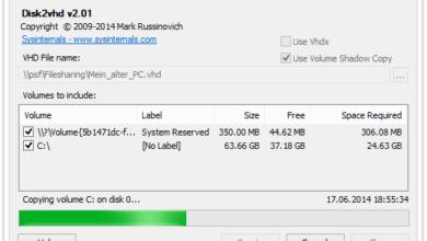 Bild von Altes Windows-System als VHD in VirtualBox weiterverwenden